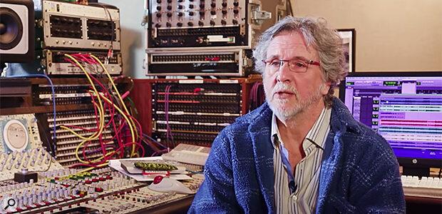 Producer and engineer Mark Linett
