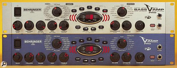 Behringer V-Amp Pro & Bass V-Amp Pro