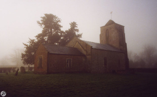 The Saxon church in Wiltshire that provided a natural ambience for many of the recordings on Bilocation.