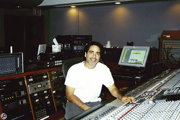 Tony Maserati in Circle House Studios.