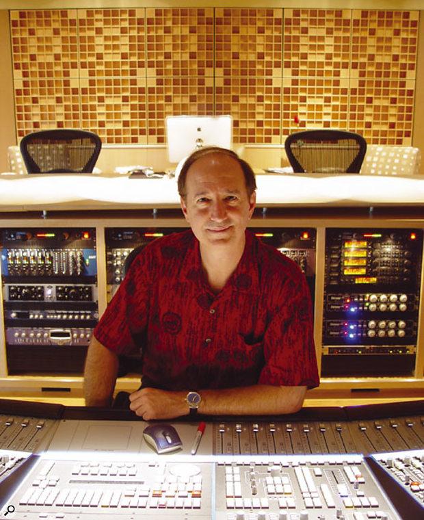 Bob Bullock in Nashville's Paragon Studios.
