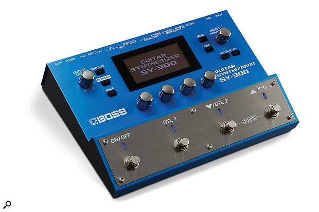 Boss SY-300 Guitar Synthesizer.