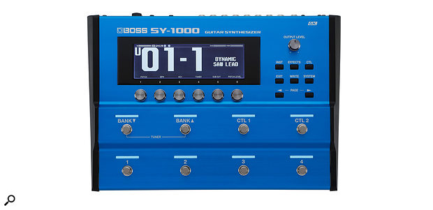 Boss's SY-1000 guitar synth.