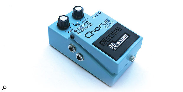Boss CE-2W 'Waza' Analogue Chorus Pedal
