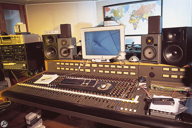 Looking Glass Studio B. The MCI desk was used to mix Reality, though automation and level changes were handled within Logic.
