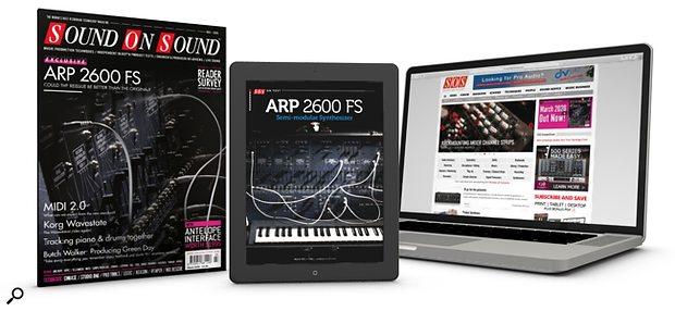 March 2020 Issue print+digital bundle