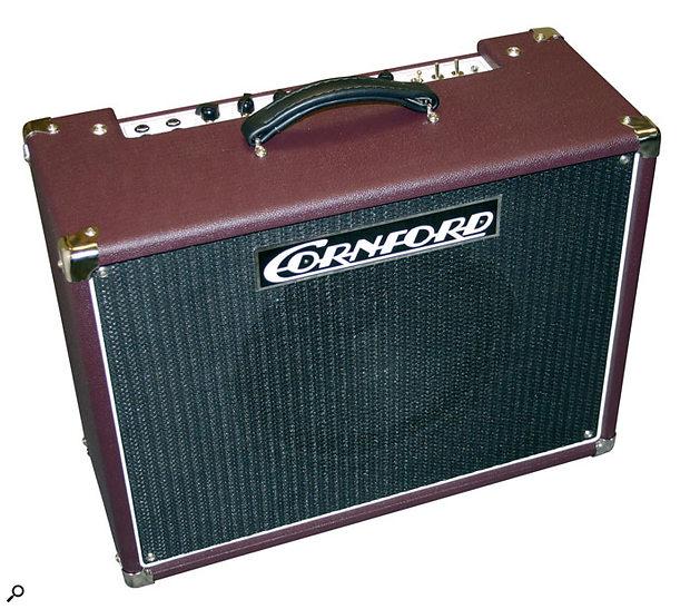 Cornford Carrera recording amp.