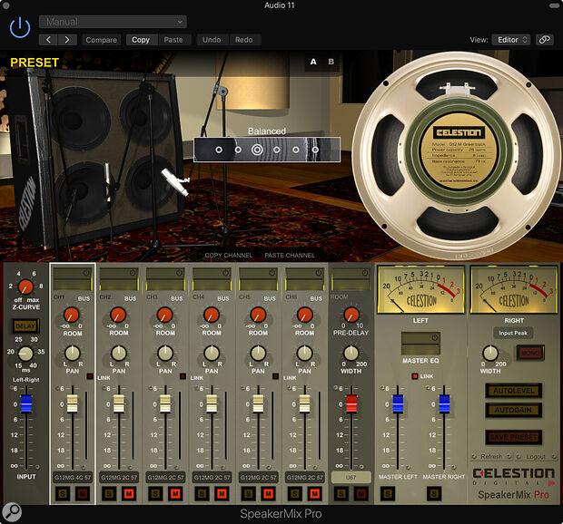 Celestion SpeakerMix Pro