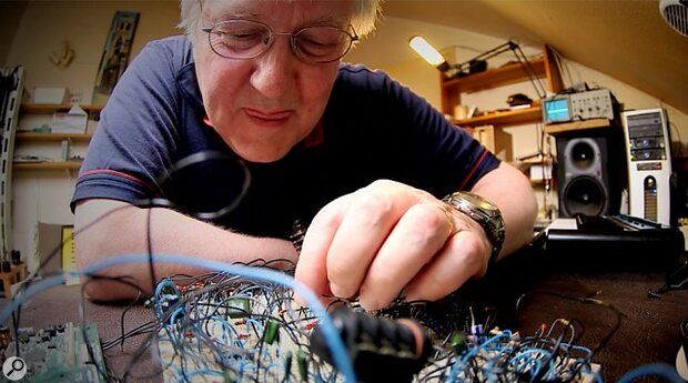 Chris Huggett - great British synth designer