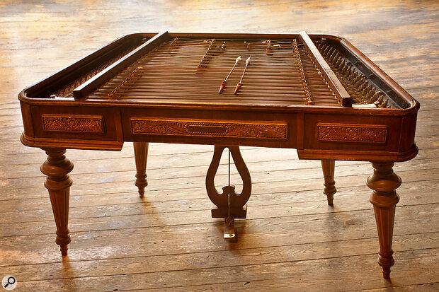 Greg Knowles' cimbalom