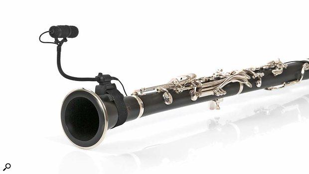 DPA clarinet mic.