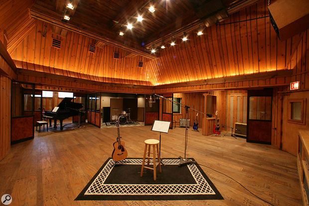 The live room in the Power Station's Studio C as it is today.