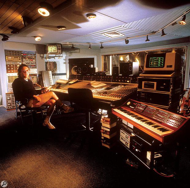 Trevor Horn at Sarm Studios' SSL 4000E.