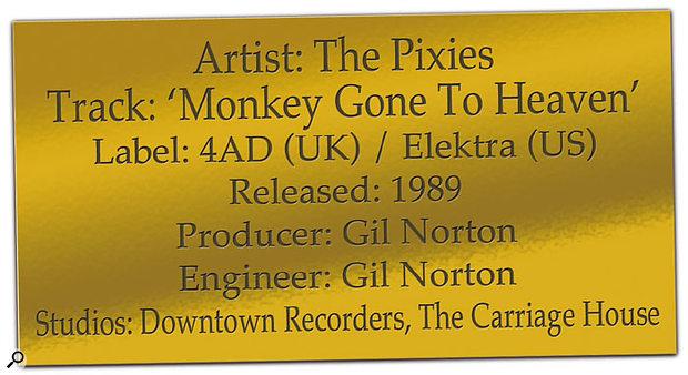 CLASSIC TRACKS: The Pixies 'Monkey Gone To Heaven'