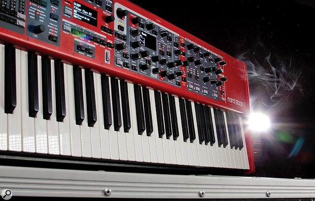 Clavia Nord Stage3 header pic.