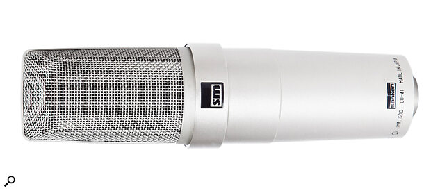 Rarely seen in the West, the Sanken CU41 is nevertheless an extremely high‑quality mic with a long and distinguished career.