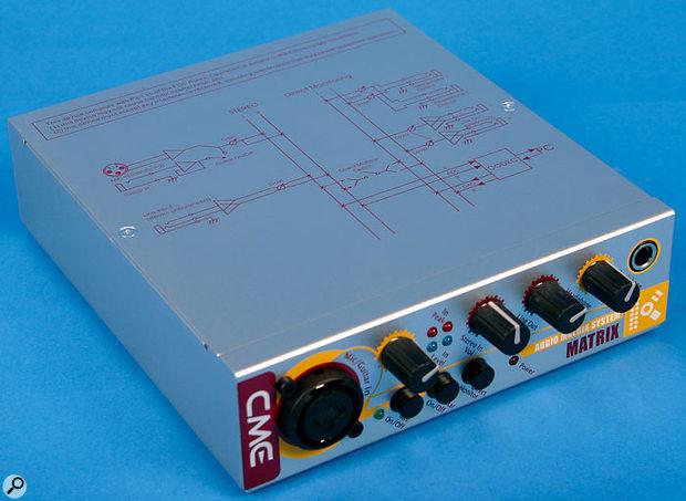 CME Matrix K audio interface.