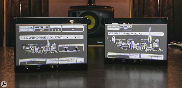 Breakout boxes for CAST audio (ie. balanced analogue sent down CAT5 cable): the N22 and N22H from Cranborne Audio.