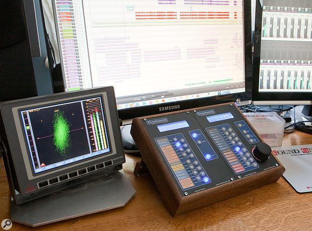 Crookwood M1 mastering console.
