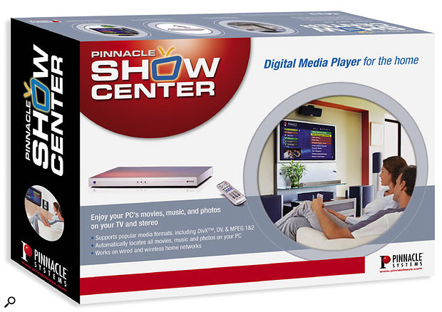 Pinnacle's Showcenter: a good idea that will be even better when uncompressed  audio playback is supported.