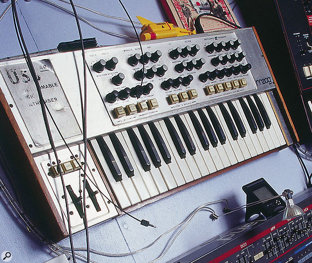 Roger Lyons' unusual OSCar synth.
