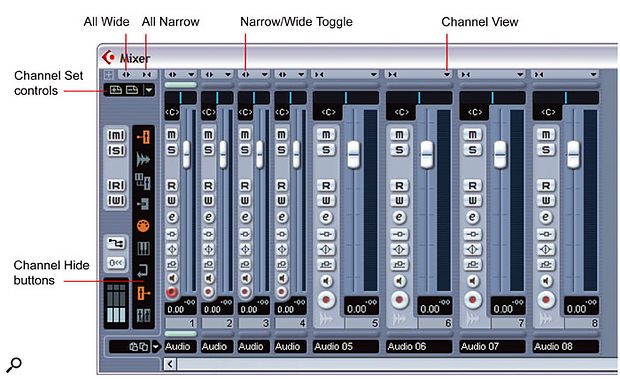 Working With Multi-Channel Projects