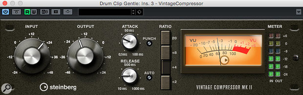 Steinberg's Vintage Compressor, inspired by the classic UREI 1176.