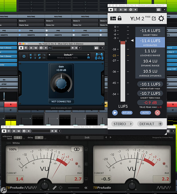 Some freeware plug‑ins that can enhance your DIY mastering experience in Cubase Elements.