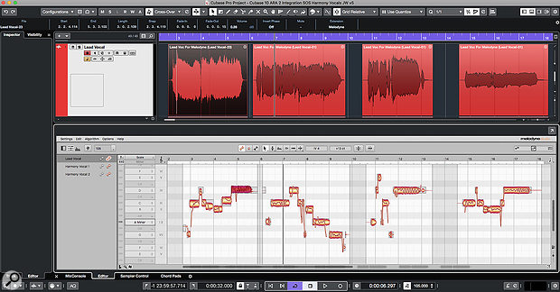 ARA 2 integrates Melodyne much more deeply into the Cubase Pro editing environment.