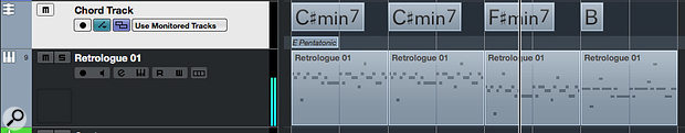The Chord Track can add a  further creative twist to your random melody generation workflow.