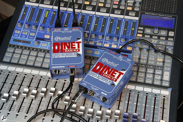 Radial DiNET DAN-TX & DAN-RX