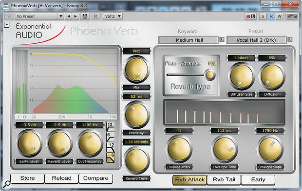Exponential Audio PhoenixVerb & R2