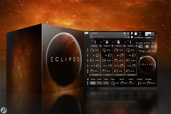 Wide Blue Sound Eclipse sample library/VI.