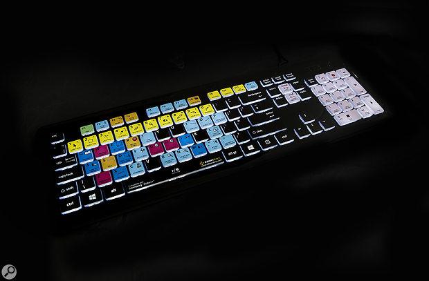 Editors Keys Cubase Backlit  PC Keyboard