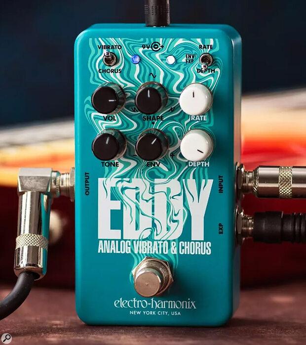 Electro-Harmonix Eddy  Analogue Vibrato & Chorus Pedal