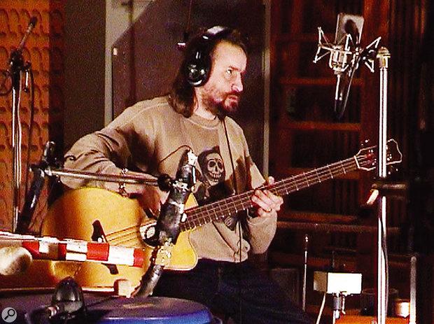 Alexander Hacke is Einstürzende Neubauten's bass player and chief engineer.