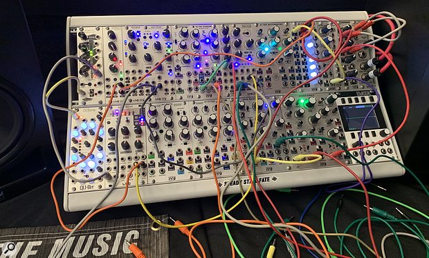 Synthplex 2019 Eurorack modules dominated.