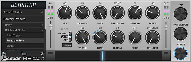 UltraTap can be a wild ride of creative delay effects!