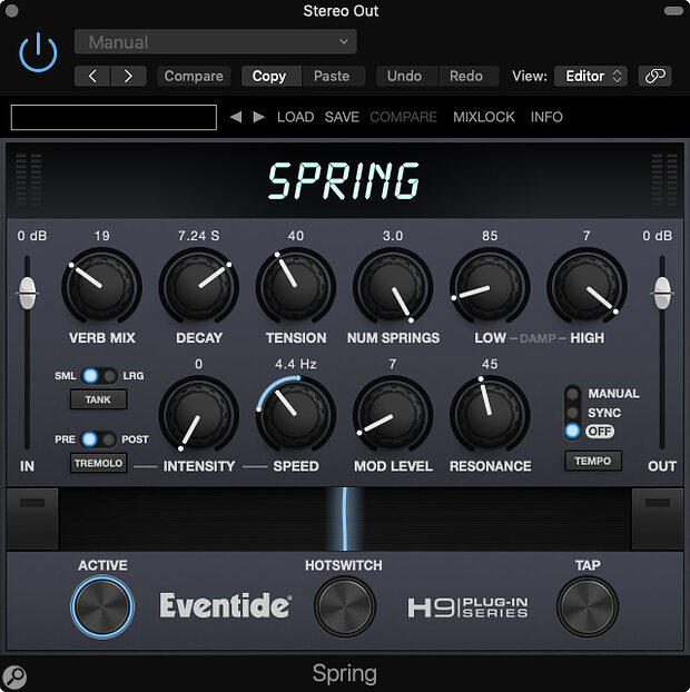 Eventide Spring Reverb Plug-in