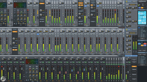 Larger interfaces often include sophisticated DSP mixing features, which are controlled from dedicated Mac OS and Windows programs.