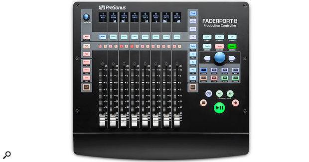 PreSonus unveil FaderPort 8 DAW control surface