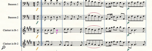 Finale 25 now handles the input of notes for transposing instruments in a  more appropriate manner.