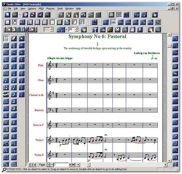 MakeMusic! Finale 2004