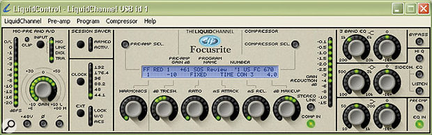 Focusrite Liquid Channel