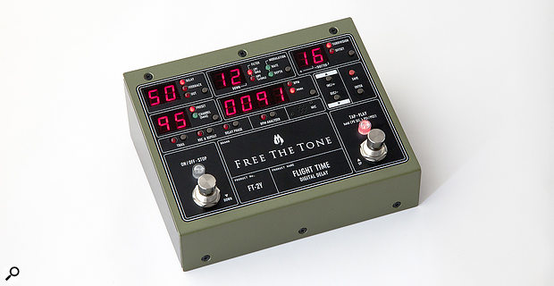 Free The Tone Flight Time FT-2Y digital delay pedal.