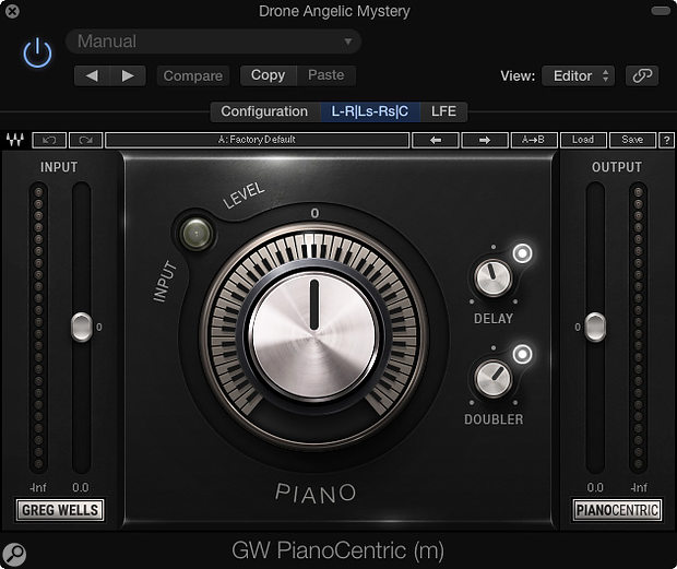 PianoCentric plug-in.