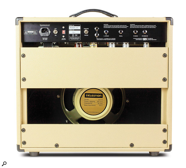 The UK–made Celestion 'Creamback' speaker is fitted as standard.