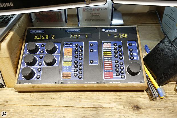 Studio SOS June 2020 - Crookwood mastering controller.