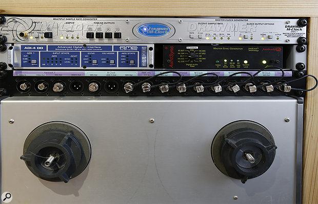 Studio SOS June 2020 - close-up of clocking system.