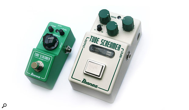 Ibanez TS Mini & Nu Tube Screamer Stompbox Effects